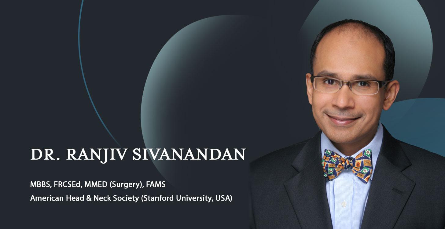 Dr. Ranjiv Sivanandan